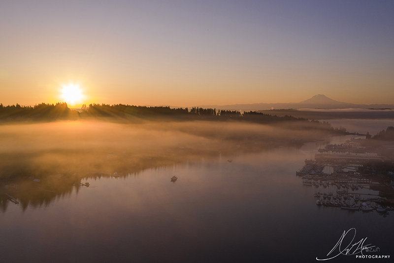 Gig Harbor Morning Landscape Photo 29 NV Holden Photography