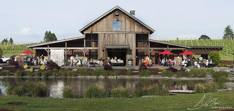 Lake Oswego Photo Art in the Garden at Tumwater Vineyard NV Holden Photography