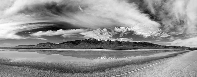 Black And White Mountainscape Landscape Photo 17 NV Holden Photography